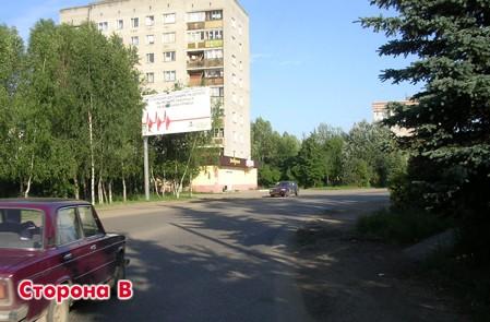 Щит, Московская область, Дедовск г., ул. Железнодорожная, около д.11, сторона Б.
